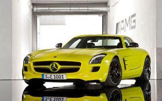 Mercedes Benz SLS AMG E-Cell, vettura potente ed ecologica