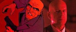 Bruce Willis e Morgan Freeman in