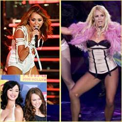 Miley Cyrus è la copia di Britney Spears, parola di Katy Perry