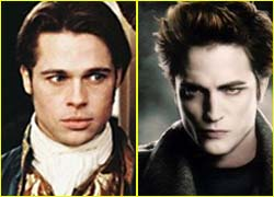 Robert Pattinson battuto da Brad Pitt nella classifica dei vampiri più sexy