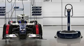 Williams Power Plate PRO6, pedana vibrante direttamente dalla Formula 1