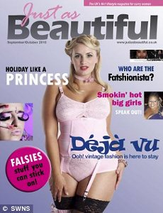 "Nasce ""Just as beautiful"", il primo magazine per donne in carne"