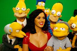 Katy Perry e i cartoni: censurata da Sesame Street, arriva nei Simpson