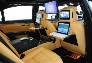"""Mercedes S600 """"iBusiness"""" Sedan, un ufficio in movimento realizzato da Brabus"""