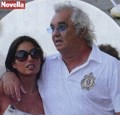 Elisabetta Gregoraci e Flavio Briatore tornano sul Force Blue: ecco le immagini