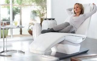 Relax Chair Yasumi di Panasonic per addormentarsi dolcemente