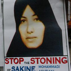 Ahmadinejad nega la condanna per lapidazione di Sakineh Mohammadi-Ashtiani