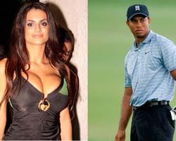 Cristina Del Basso tra le amanti di Tiger Woods?