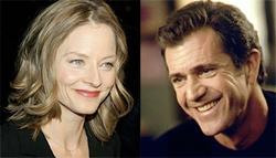 Mel Gibson è il più amato di Hollywood, parola di Jodie Foster