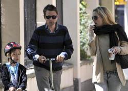 Kate Hudson e Matthew Bellamy: prove tecniche di famiglia a Los Angeles