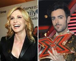 Lorella Cuccarini invita Marco Mengoni a ballare in un flashmob