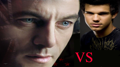 "Jason Isaacs VS Taylor Lautner in ""Abduction"""