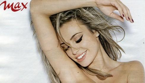 Foto Martina Stella nuda per Max