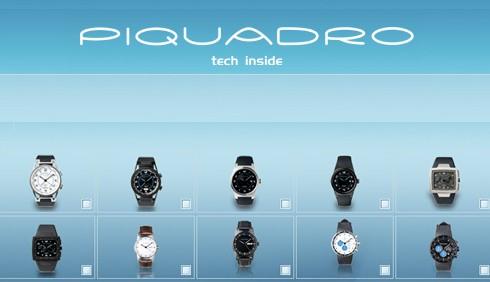 Orologi Piquadro, la collezione inverno 2010