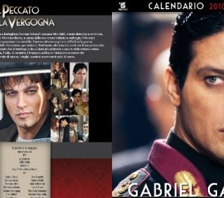 Calendario Gabriel Garko e Manuela Arcuri 2011: Il peccato e la vergogna