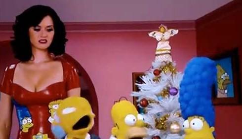 Katy Perry ospite de I Simpson a Natale