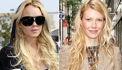 Lindsay Lohan si arrabbia per Gwyneth Paltrow in Glee