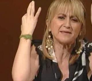 Luciana Littizzetto infuriata a Che tempo che fa