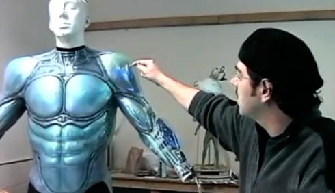 Il costume di Superman secondo Tim Burton