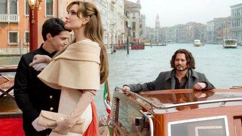 """The Tourist"": a Roma Johnny Depp e Angelina Jolie, ecco i dettagli"