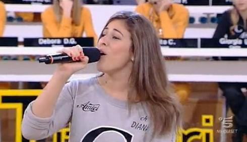 Diana Del Bufalo loda lo spogliarello di Platinette