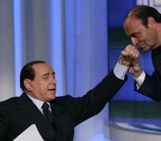 Bruno Vespa in TV contro Silvio Berlusconi?