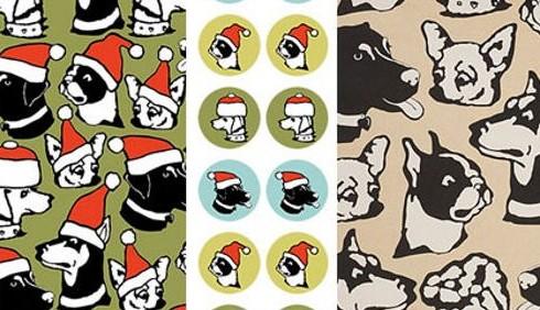 Idee dècor: riciclare la carta di Natale
