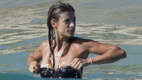 Elisabetta Canalis sexy in Messico, nuove foto