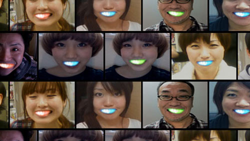 Nuove tendenze: il sorriso a Led made in Japan
