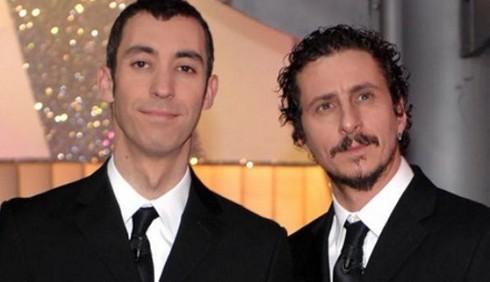 Luca Bizzarri e Paolo Kessisoglu a Sanremo: