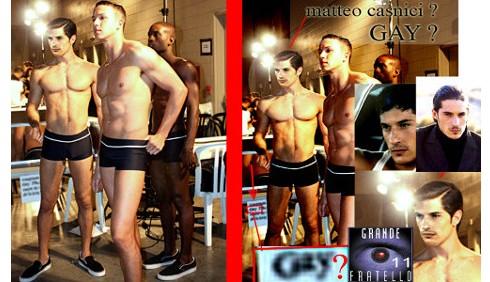 GF11: nuovi dubbi sulla sessualità di Matteo Casnici?