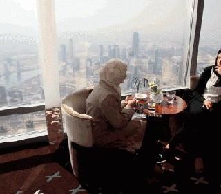 Atmosphere: a Dubai si viaggia nel cielo col cibo