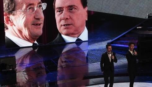 Luca e Paolo: immagini di due iene a Sanremo
