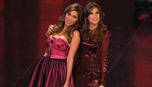Elisabetta Canalis e Belen Rodriguez, gli abiti di Sanremo 2011