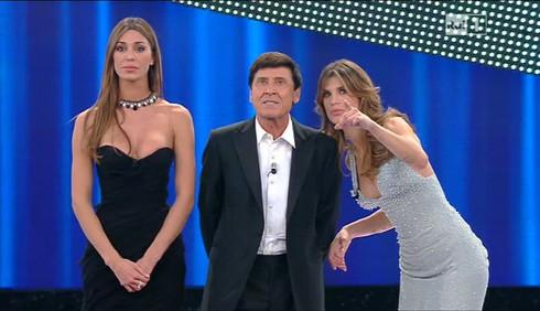 Sanremo: Anna Tatangelo e Anna Oxa prime eliminate