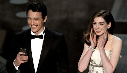 Oscar 2011, James Franco e Anne Hathaway bocciati