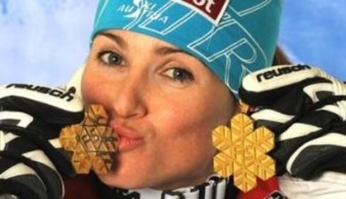 Elisabeth Goergl vince la discesa di Garmisch
