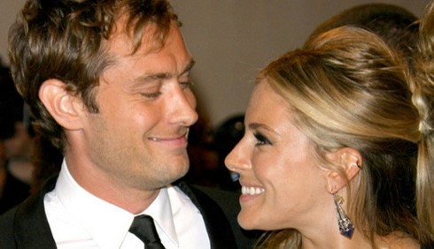 Jude Law e Sienna Miller: la lovestory