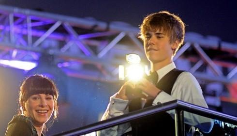 Justin Bieber a Londra e Parigi