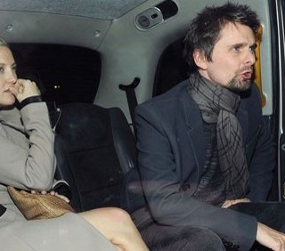 Kate Hudson e Matt Bellamy romantici a Londra
