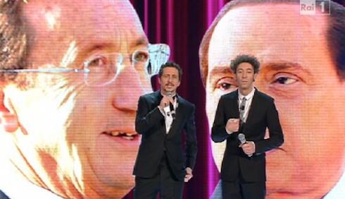Luca e Paolo a Sanremo, il video