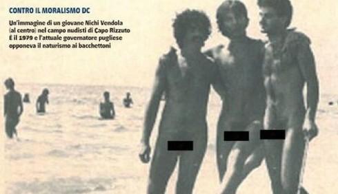 Nichi Vendola nudo su Il Giornale