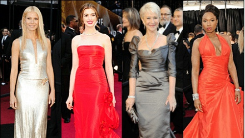 Oscar 2011: i vestiti del red carpet