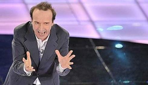 Roberto Benigni a Sanremo: polemica compensi