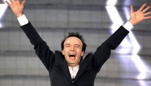 Sanremo, stasera Roberto Benigni e la storia d'Italia