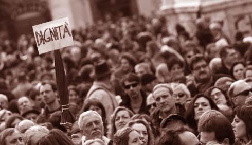 Roma gremita per la manifestazione delle donne