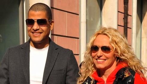 Antonella Clerici ed Eddy Martens: foto