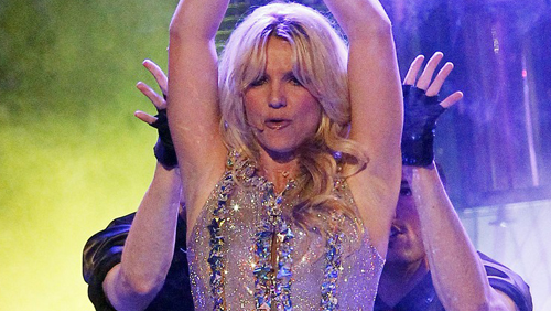 Britney Spears, Femme Fatale in concerto a San Francisco