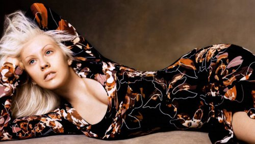 Christina Aguilera: foto hot perse in hotel
