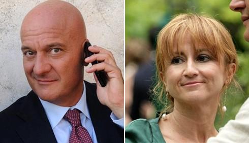 Claudio Bisio e Luciana Littizzetto, personaggi TV del 2011